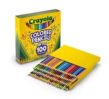 Colored pencils, 100 ks, Crayola