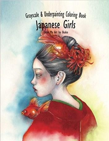 Color My Art, Japanese Girl, Ikuko