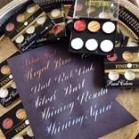 Coliro, M780, metalické, Pearl colors, perleťové akvarelové barvy, 6 odstínů, Vintage