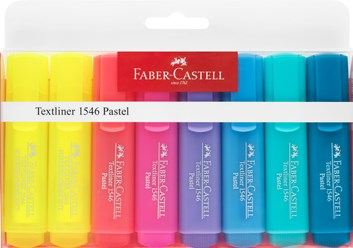 Faber-Castell, 154681, Textliner, sada zvýrazňovačů, 8 ks