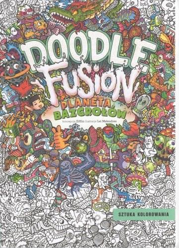 Omalovánky pro dospělé, mandaly, Doodle fusion