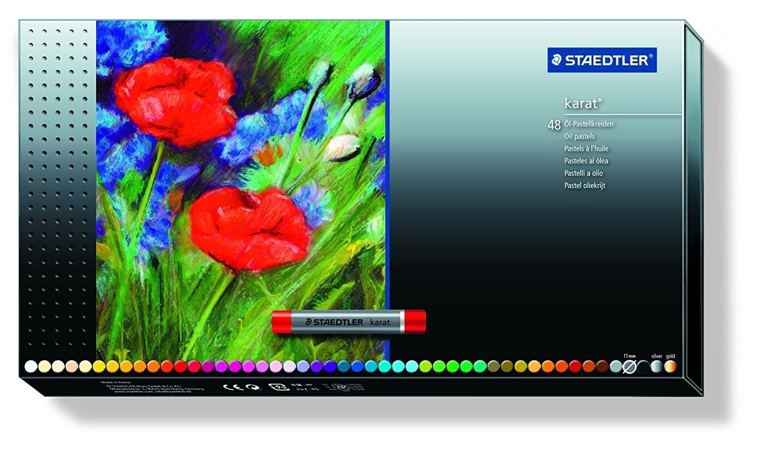 Olejové pastely Karát v zářivých barvách pro profi i amatérské umělce.