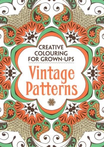 Omalovánka pro dospělé, Vintage Patterns