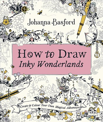 How to Draw Inky Wonderlands, Johanna Basford