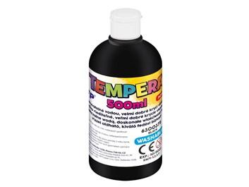 MFP, 6300375, temperová barva, 500 ml, černá