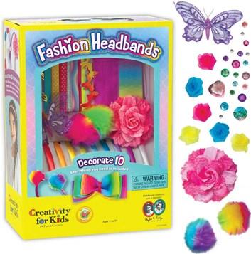 Creativity for kids, F901819, kreativní sada, módní čelenky