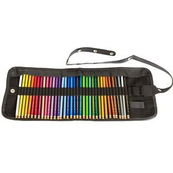 Koh-i-noor, 3825036001TP, Polycolor, souprava uměleckých pastelek v rolovacím pouzdře, 36 ks