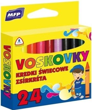 MFP, 6300341, trojhranné olejové pastely (voskovky), 24 ks