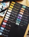 Coliro, M760, Pearl colors, metalické, perleťové akvarelové barvy, 6 odstínů, Fairytale