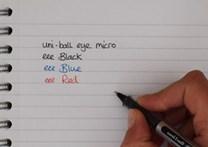 Uni-ball, UB-150, Eye micro roller, kuličkové pero, 1 ks, černá