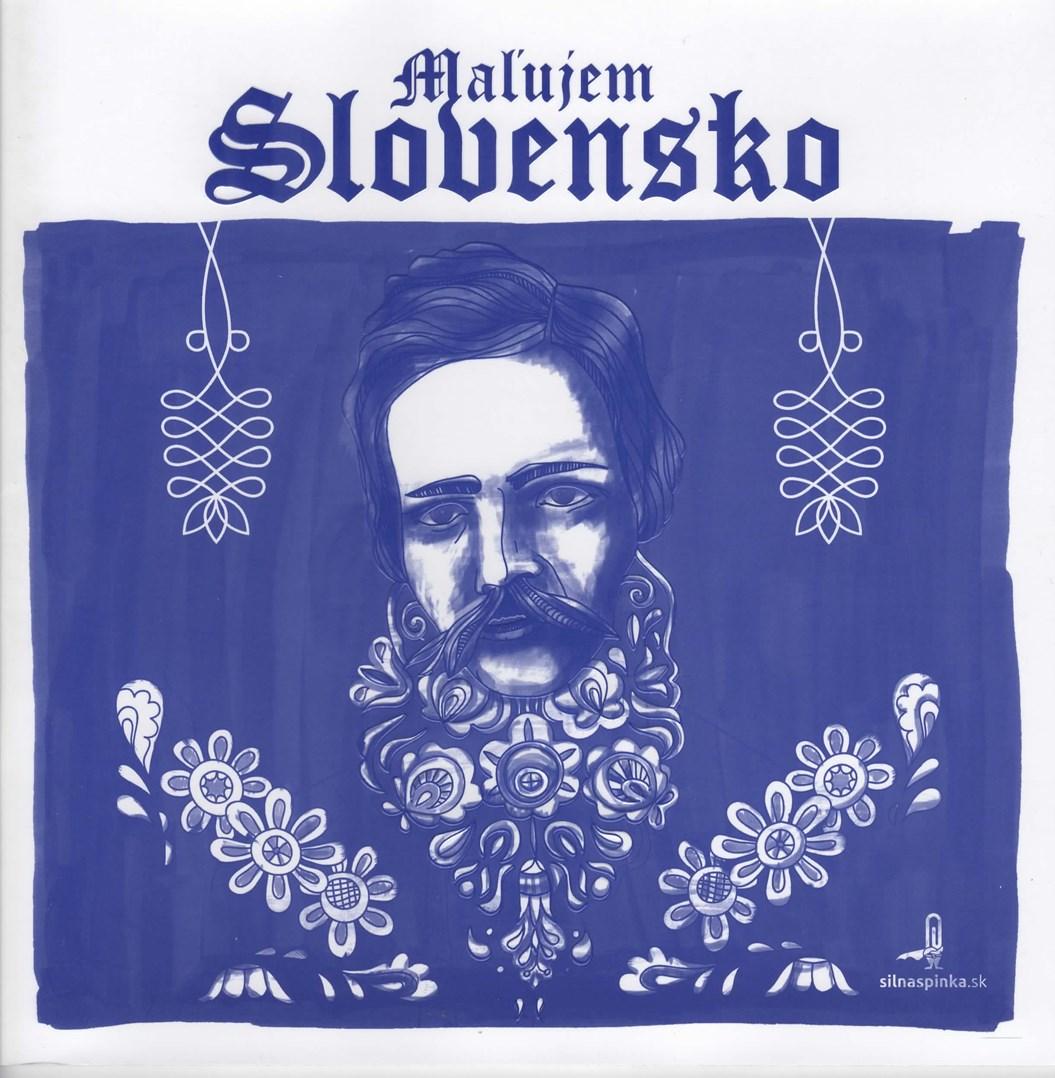 Malujem Slovensko, omalovánka pro dospělé věnovaná krásám Slovenské republiky.jpg