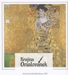 Výtvarné umění a obrazy Gustava Klimta v antistresové omalovánce pro dospělé.