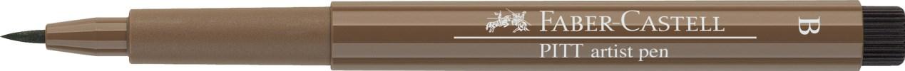 Faber-Castell, 167578, Pitt artist pen, popisovač se štětečkovým hrotem (brush), 1 ks - Nougat 178