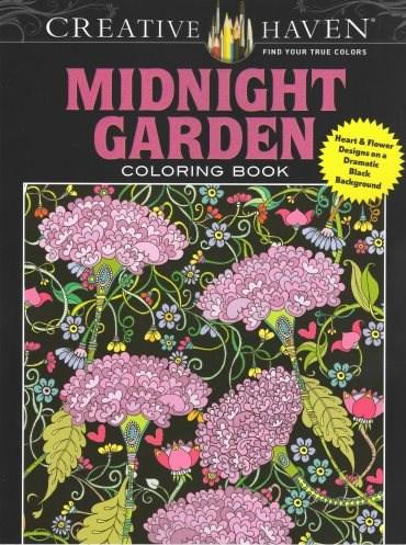 Omalovánka pro dospělé, Midnight Garden