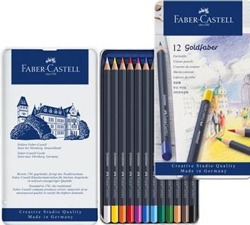 Faber Castell, Goldfaber, 114712,  sada 12 ks