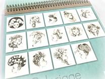 Umělecké omalovánky Coloriage Wild 3, GY065, Emmanuelle Colin