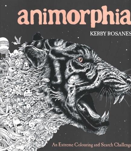 Omalovánka pro dospělé, Animorphia