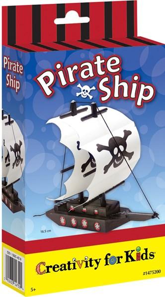 Pirátská loď, kreativní sada, Creativity for kids
