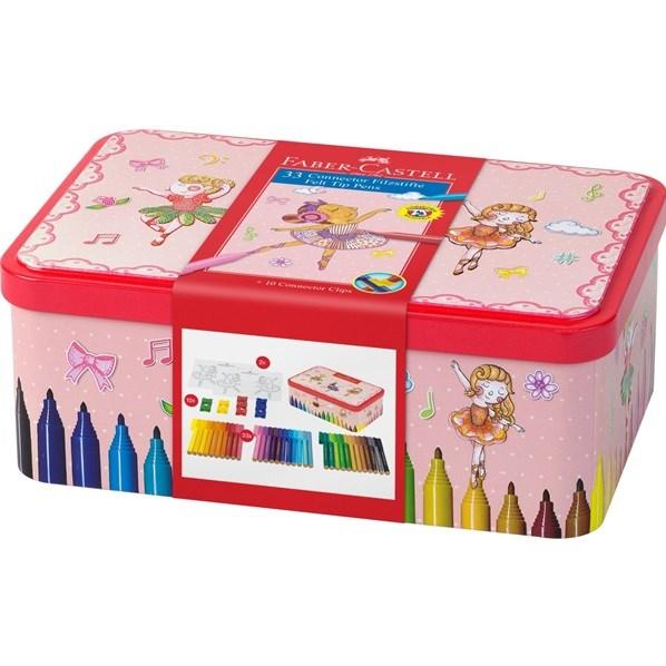 Fixy Connector budou bavit vás i vaše děti! Krabička s obrázky baleriny nejen pro holčičky.