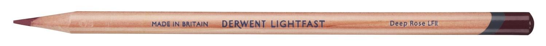 Derwent, 2305714, Lightfast, umělecké pastelky, kusové, 1 ks, Deep Rose
