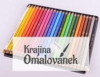 Omalovánky pro dospělé, Hudební omalovánky s pastelkami Polycolor 24