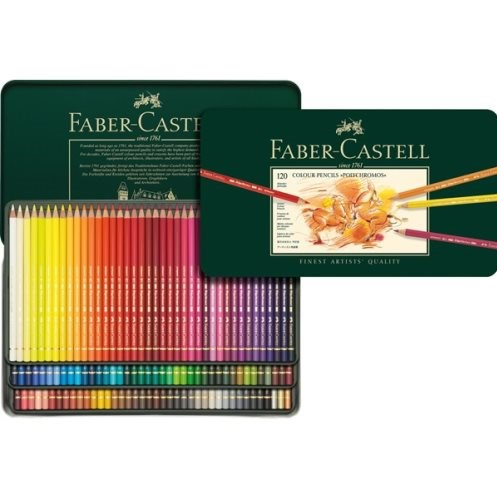 Polychromos Faber Castell, 120 kusů