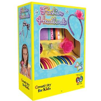 Creativity for kids, 1-819-200, kreativní sada, módní čelenky