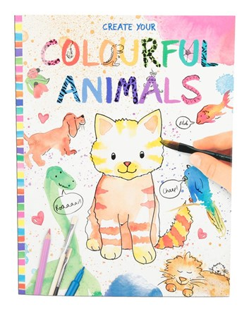 Colourful animals, Create your
