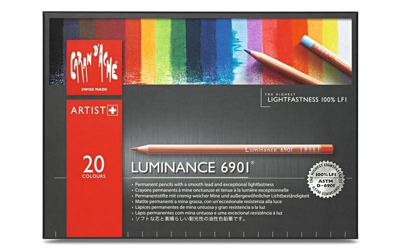 Caran d'Ache Luminance 20 kusů