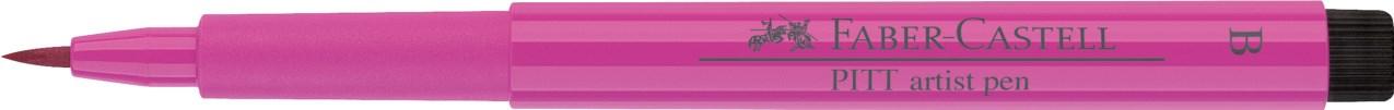 Faber-Castell, 167425, Pitt artist pen, popisovač se štětečkovým hrotem (brush), 1 ks - Middle purple pink 125