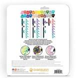 Chameleon, FL2401, fineliners, sada tónovacích linerů, 24 ks, Bold tones