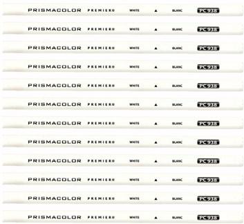 Prismacolor, PC938, Prismacolor Premier, pastelka, bílá barva, 1 ks