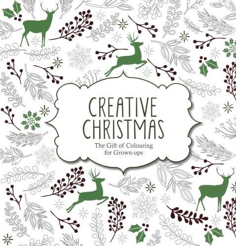 Omalovánka pro dospělé, Creative Christmas