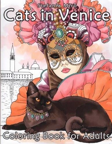 Omalovánka pro dospělé, Cats in Venice