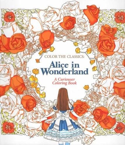 Omalovánky pro dospělé, Alice in Wonderland