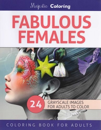 Omalovánka pro dospělé, Fabulous Females