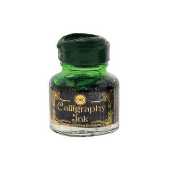 Manuscript, MSH420EME, kaligrafický inkoust, zelená (emerald), 30 ml
