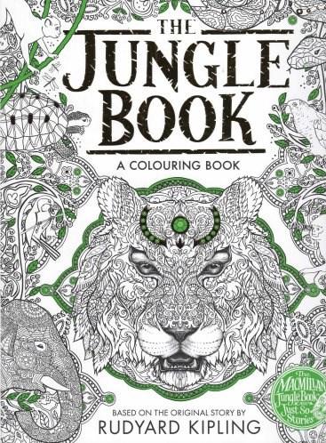 Omalovánka pro dospělé, Jungle Book