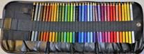 Koh-i-noor, 3827036002TP, Polycolor, souprava uměleckých pastelek v rolovacím pouzdře, 36 ks
