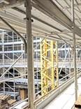 Rámové lešení  85 m² - podlážky zánovní