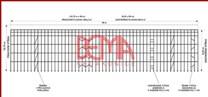 Stavební lešení 1064,2 m² - podlážky zánovní