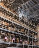 Rámové lešení 59,9 m² - podlážky zánovní