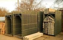 Fasádní lešení 510,3 m² - podlážky standard