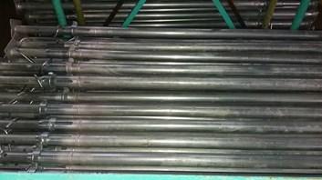 Stojka zinková B30  výška 1,8 m - výsun až - 3,2 m