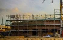 Fasádní lešení 388,8 m² - podlážky zánovní