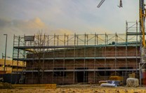 Fasádní lešení 243 m² - podlážky standard