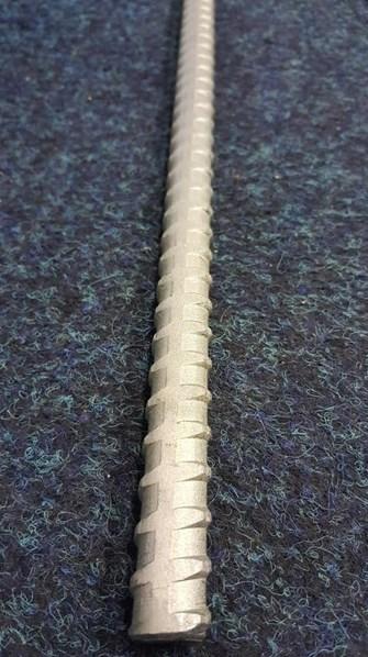 Šroub tyč k stahování bednění bez povrchové úpravy