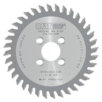 Drážkovací kotouče pro CNC stroje