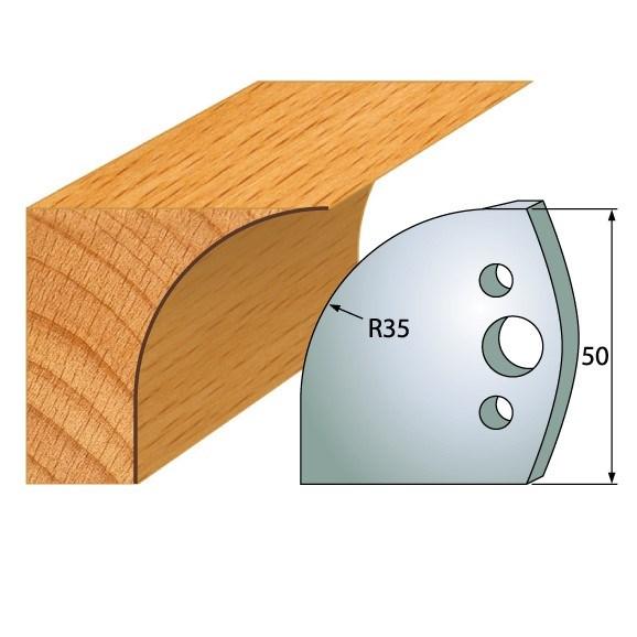 IGM profil 564 - pár nožů 50x4mm SP