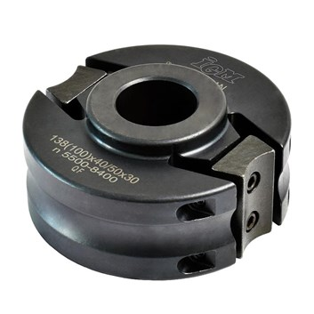 Univerzální frézovací hlava IGM MAN - D100x40-50 d30 OCEL